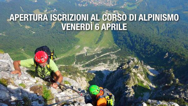 Iscrizioni corso alpinismo